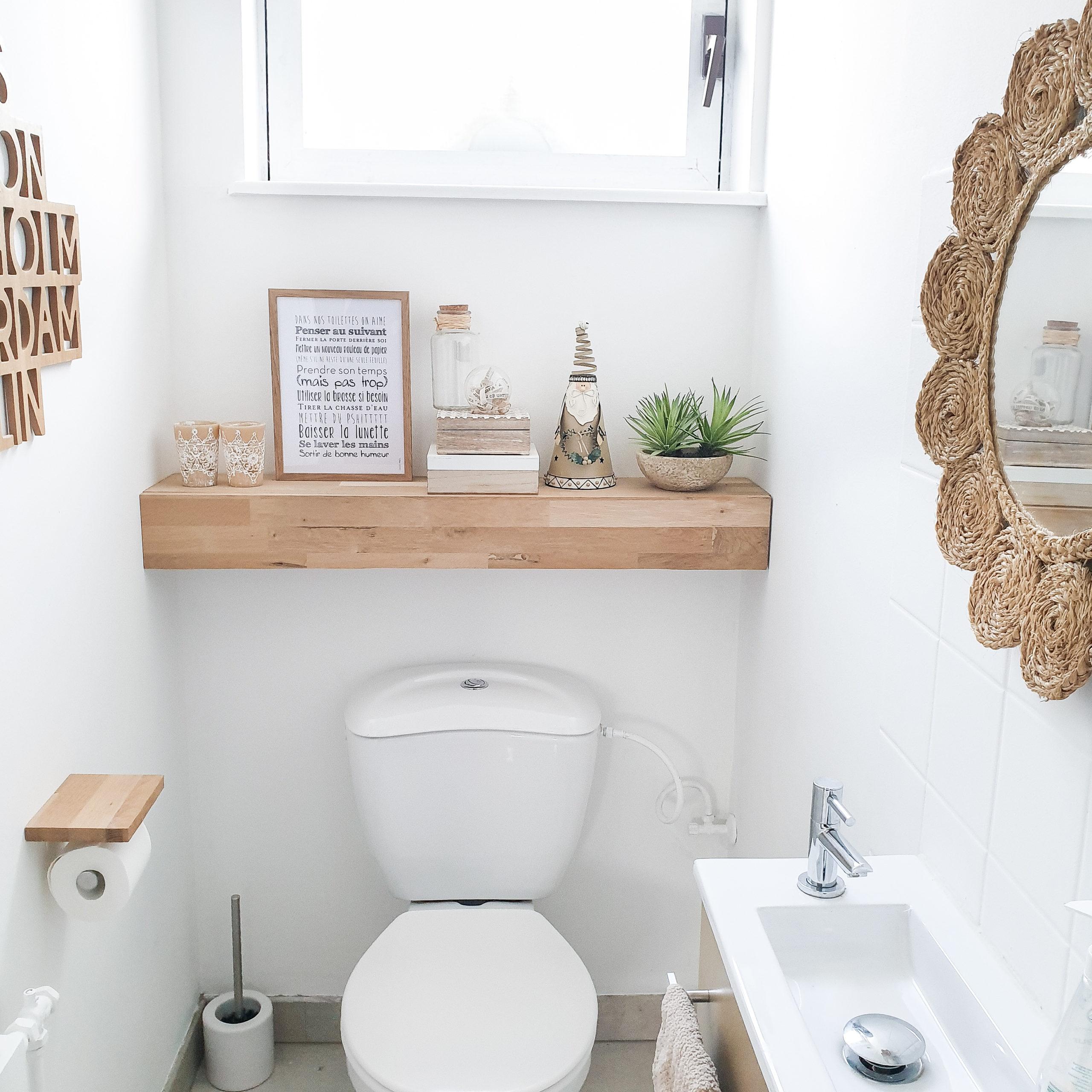 Un Toilette Ou Une Toilette affiche toilettes personnalisable (wc)